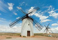 Medieval Windmills Royalty Free Stock Image