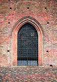 Medieval window, architecture details Royalty Free Stock Photo