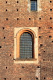 Medieval window of a castle Stock Photography