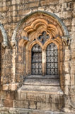 Medieval window, Lincoln Stock Image