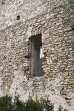 Medieval window Royalty Free Stock Photo