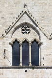 Medieval window in Todi Royalty Free Stock Images