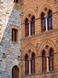 Medieval windows Royalty Free Stock Photo