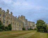 Medieval Windsor castle in Berkshire, England. Stock Photos