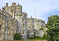 Medieval Windsor castle in Berkshire, England. Stock Image