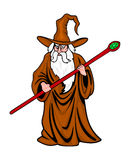 Medieval wizard Stock Images