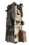 Medieval or Wizard's Tower, isolated version Royalty Free Stock Photography