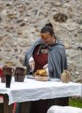 Medieval Woman stock photo