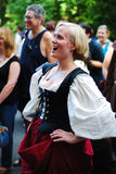 Medieval Woman portrait Royalty Free Stock Photos
