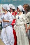 Medieval women Royalty Free Stock Photo