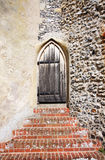 Medieval wooden door Royalty Free Stock Photography