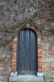 Medieval wooden door Royalty Free Stock Image