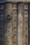 Medieval Wooden Door Royalty Free Stock Photo