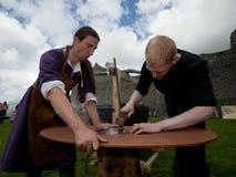 Medieval workshop Stock Photos