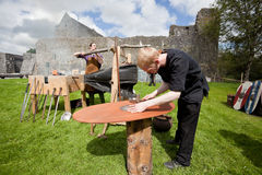 Medieval workshop Royalty Free Stock Image