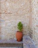 Medieval yard corner Royalty Free Stock Photos