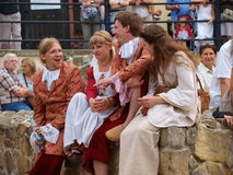 Medieval youth, Lublin, Poland Stock Photography