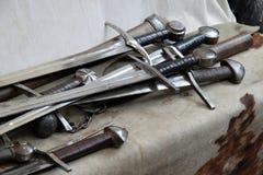 Medievali de pelle Photos stock