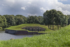 Medievel fort Naarden-Vesting Royalty Free Stock Image