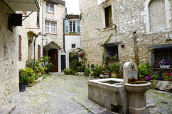 Medievel Town of Saint Paul De Vence Stock Photography