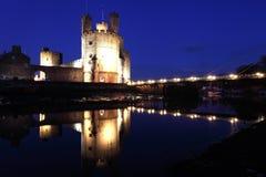 Caernarfon castle Royalty Free Stock Photography