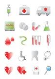 Medik icons Stock Photo