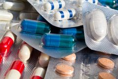 Medikation Stockfoto