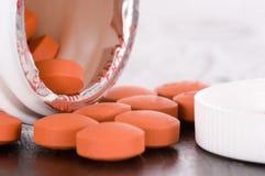 Medikation - über dem Zählwerk - otc Lizenzfreies Stockfoto