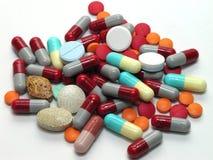 Medikation in einem Stapel Lizenzfreies Stockbild