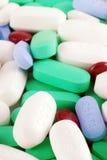 Medikation u. Vitamine stockfoto