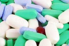 Medikation u. Vitamine lizenzfreie stockfotos