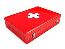 Medikit medical box Royalty Free Stock Images