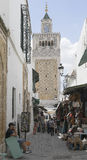 Medina στην Τυνησία Στοκ Φωτογραφίες