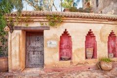 In the medina of the african harbor city Agadir Royalty Free Stock Photos