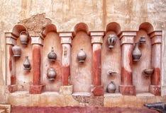 In the medina of the african harbor city Agadir Stock Photos