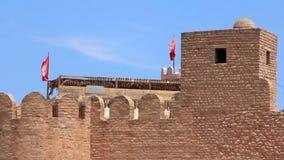 Medina. Altes Bollwerk in Sousse, Tunesien stock video
