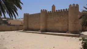 Medina. Altes Bollwerk in Sousse Tunesien stock video footage