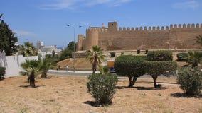 Medina. Altes Bollwerk in Sousse, Tunesien stock footage