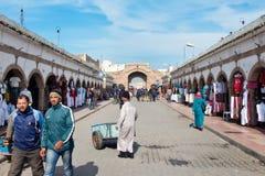 Medina av Essaouira, Marocko Arkivbild