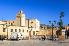 Medina av Fez i Marocko Arkivbild