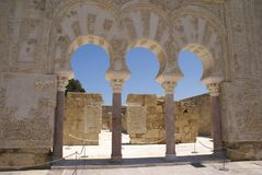 Medina Azahara in Cordoba, Andalusia, Spain, Europe Royalty Free Stock Images