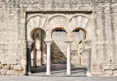 Medina Azahara. Cordoba, Spain Royalty Free Stock Photos