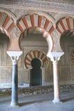 Medina Azahara Palace arches in Cordoba, Spain Royalty Free Stock Photos