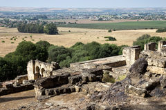 Medina Azahara ruins panoramic view - Cordoba, Spain Royalty Free Stock Images