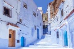 Medina azul Imagenes de archivo