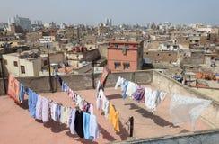Medina of Casablanca, Morocco stock photo