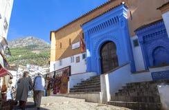 Medina Chefchaouen, Μαρόκο Στοκ εικόνες με δικαίωμα ελεύθερης χρήσης