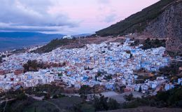 Medina of Chefchaouen city in Morocco, Africa Stock Photography