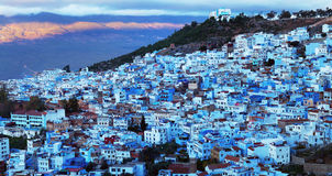 Medina of Chefchaouen city in Morocco, Africa Royalty Free Stock Photos