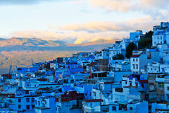 Medina of Chefchaouen, Morocco. Chefchaouen or Chaouen is a city in northwest Morocco. It is the chief town of the province of the same name, and is noted for royalty free stock image
